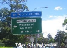 street signs in Australia