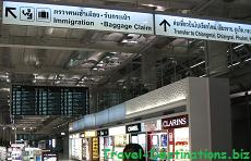 Bangkok International Airport Thailand