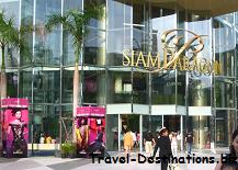 Go shopping at Siam Paragon Bangkok Thailand